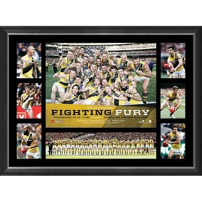 Richmond Tigers 2017 AFL Premiers Success Tribute Framed Official AFL