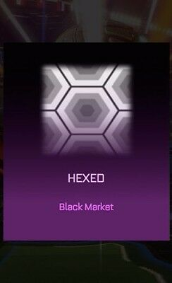 Rocket League PS4 Hexed Mystery Decal - PS4