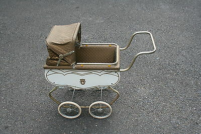 1953 Welsh Baby Buggy Doll Coach Pram Stroller Carriage