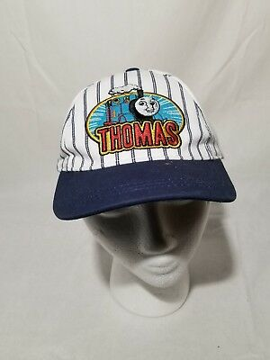 Thomas The Train Conductor Hat Cap Blue Stripe RXR Embroidered Kids