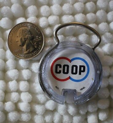 COOP CO-OP Milks Producers ASSN Of Sioux City Iowa Keychain Key Ring #26440
