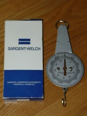 Sargent Welch Scientific Company Hanging Scale Laboratory Instruments Apparatus
