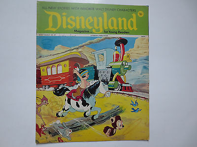 Disneyland- Magazine for Beginning Readers- Fawcett Publications- #47 1972