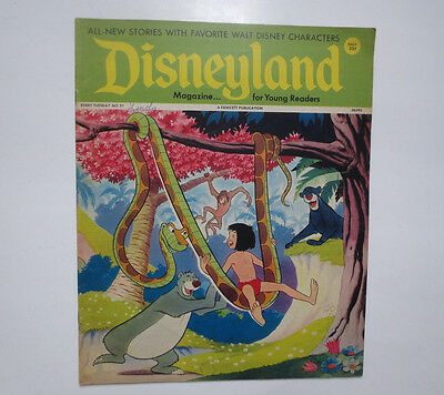 Disneyland- Magazine for Beginning Readers- Fawcett Publications- #51 1972