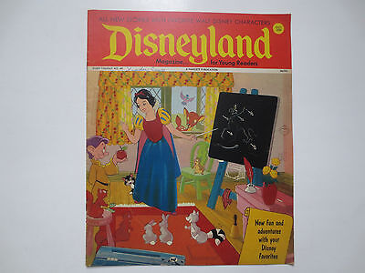 Disneyland- Magazine for Beginning Readers- Fawcett Publications- #49 1972