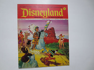 Disneyland- Magazine for Beginning Readers- Fawcett Publications- #12 1972