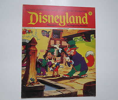Disneyland- Magazine for Beginning Readers- Fawcett Publications- #11 1972