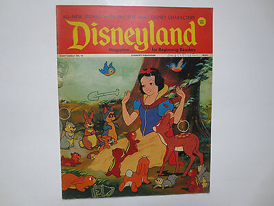 Disneyland- Magazine for Beginning Readers- Fawcett Publications- #10 1972