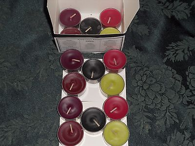 Partylite FORBIDDEN FRUITS multi-scent box of tealights (NIB) retired