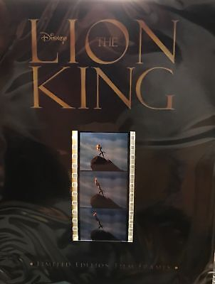 New Sealed Disney The Lion King Limited Edition Film Frames Cells 35 Mm Strip