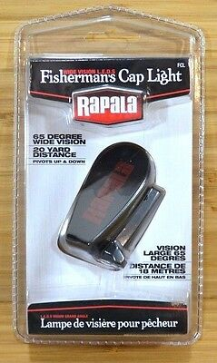 Rapala Fisherman's Cap 3 LED Cap Light