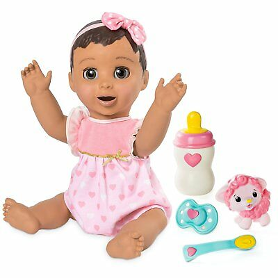 Luvabella Brunette Hair Responsive Baby Doll Realistic Expressions & Movement