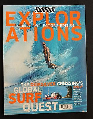 Surfing Magazine Explorations 2002 Surfer Longboarding  Collector's Edition