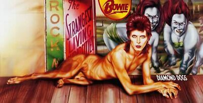 David Bowie-Diamond Dogs Banned Full Cover Vinyl LP Sticker or Magnet