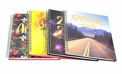 2018 A6 Day to Page Leather Organiser Appointment Office Desk Diary F