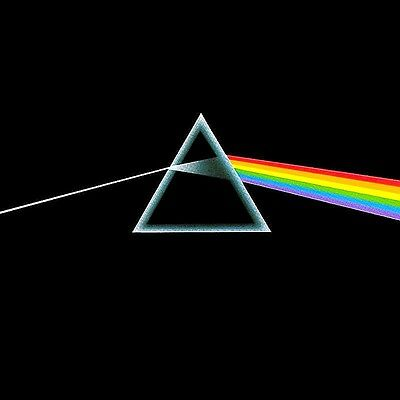 Pink Floyd Dark Side Of The Moon Vinyl LP Cover Sticker or Magnet