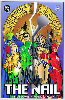 Complete 3-Issue Justice League The Nail Mini-Series - 1998 - Alan Davis - Nm/m