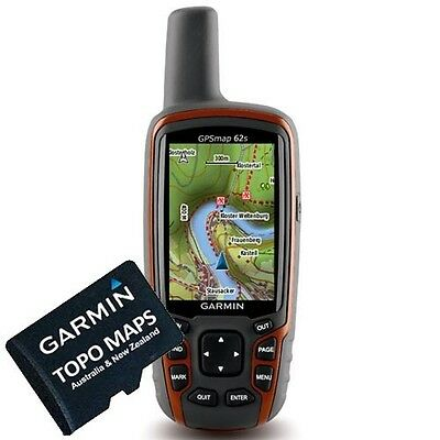 Latest Edition GARMIN Australia & New Zealand Topo Maps V5 4X4 OFFROAD CAMP GPS