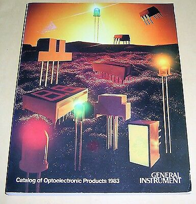 Vintage 1983 General Instrument Optoelectronic Products Catalog