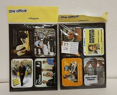 The Office  Magnet Set  Universal network television 2 sets New Dwight Schrute