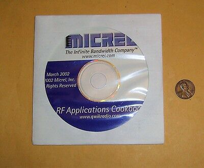 RF Applications Cookbook Disc by Micrel Inc. - 2002