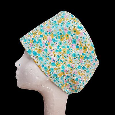 Summertime Operating Theatre Scrub Caps/Hats - nurse, ODP, surgeon, vet etc