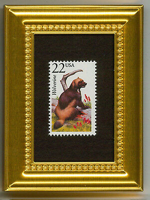 Wolverine A Glass Framed Collectible Postage Masterpiece!