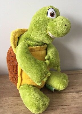 """OVER THE HEDGE - VERNE THE TURTLE - 13"""" Beanie Soft Toy - VGC"""