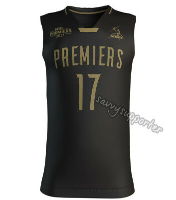 Melbourne Storm 2017 NRL Premiers Basketball Singlet Sizes S-3XL BNWT