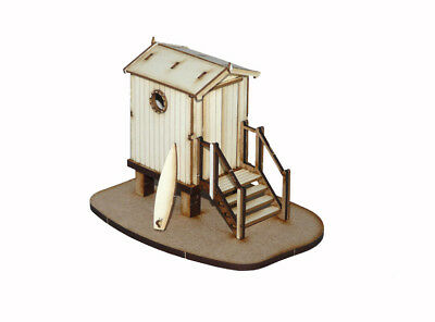 1:48 Dolls House Kit - Beach Hut