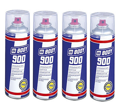 HB Body 900 Cavity Wax Oil Spray For Car And Van 4 Cans 400ml  - 5130000001