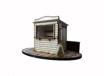 1:48 Dolls House Kit - Kiosk on the Quay