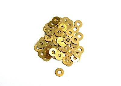 Washers 1,1 / 1,3 / 1,5 / 1,7mm Brass , DIN 125 , Washer