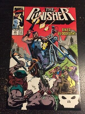 "The Punisher#31 Incredible Condition 9.4(1990)""Biker Bloodbath"""