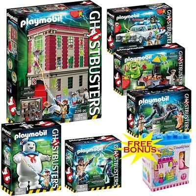 PLAYMOBIL Ghostbusters Mega Set Includes 07 different Creative Playsets Kids Fun