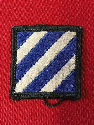 US Army 3rd Infantry Division - Full Color - Merrowed Edge