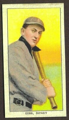 TY COBB Card RP #99 Bat on Shoulder Sweet Caporal Tigers 1909 T2