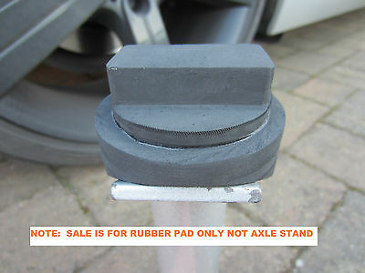 BMW 1 3 5 series Axle Stand Pad rubber chassis protection pad Car Halfords SGS