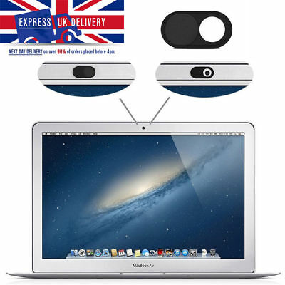 Black Colour WebCam Cover Slider Camera Privacy Sticker For Phones Laptops PC