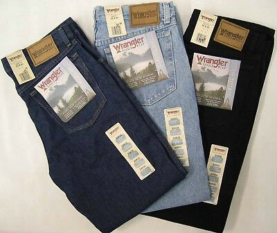 Wrangler Men's Branded 100% Original Jeans Guarantee For Best Fit and Comfort