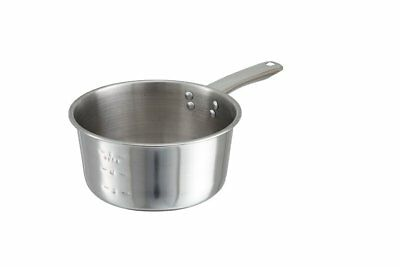 Winco SAP-2, 2-Quart Stainless Steel Sauce Pan, Commercial Grade Stewpan, with