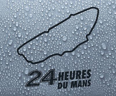 Le Mans French race circuit vinyl decal sticker graphic #1 - Larger sizes