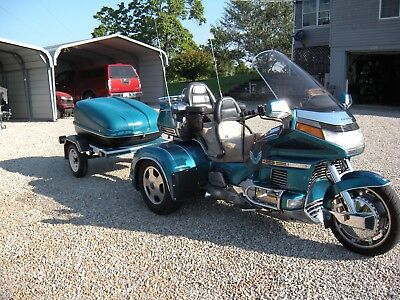 Honda: Gold Wing 1992 Goldwing SE Trike with trailer