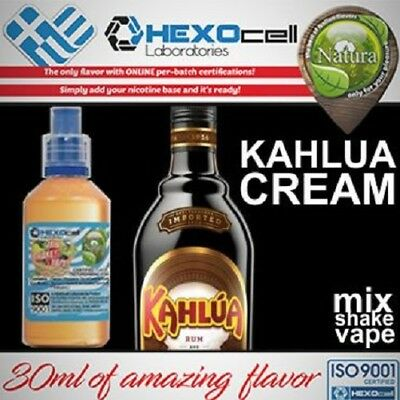 Liquid - Juice Natura - KAHLUA CREAM 100ml Nicotine 18mg made in EU
