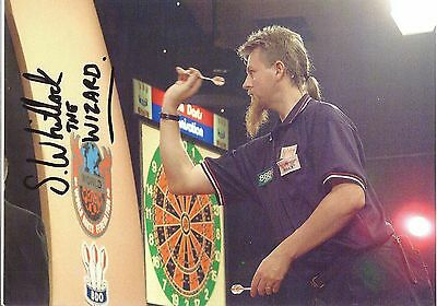 Signed Picture Of Simon Whitlock Picture Of Simon Throwing