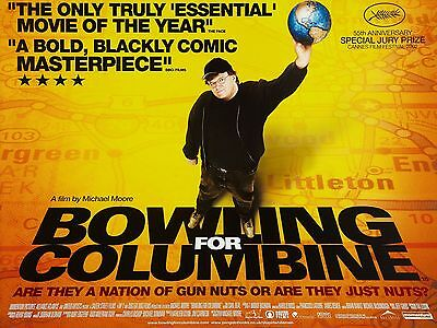 """Bowling for Columbine 16"""" x 12"""" Reproduction Movie Poster Photograph"""