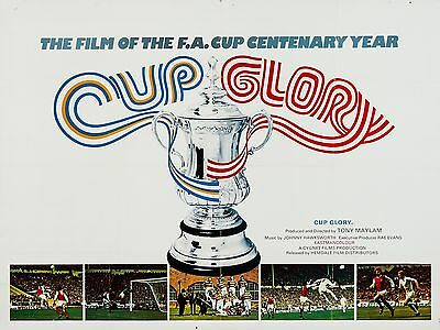 """Cup Glory 16"""" x 12"""" Reproduction Movie Poster Photograph"""