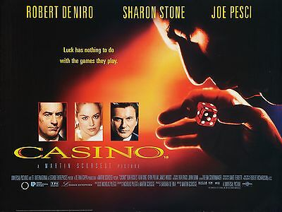"""CASINO 1995 16"""" x 12"""" Reproduction Movie Poster Photograph"""