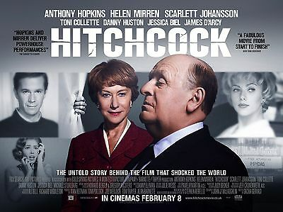 """Hitchcock 16"""" x 12"""" Reproduction Movie Poster Photograph"""