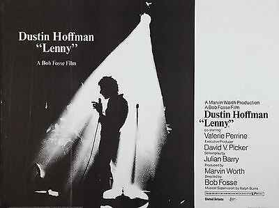 """Lenny 16"""" x 12"""" Reproduction Movie Poster Photograph"""